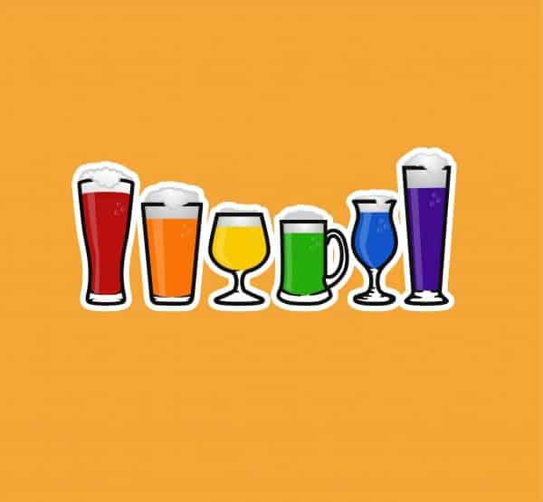 Pride Beer Sticker
