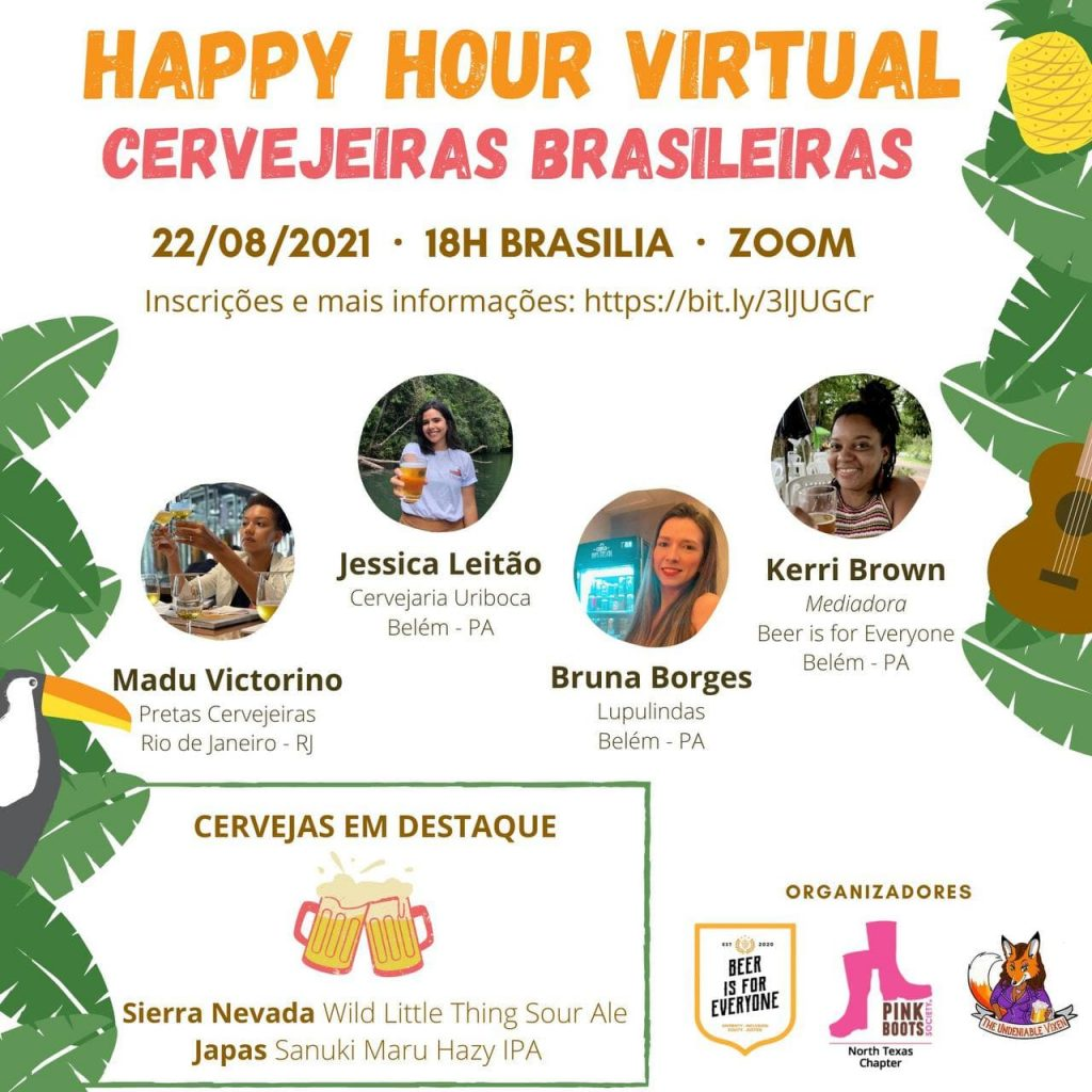 Event Flyer in Portuguese